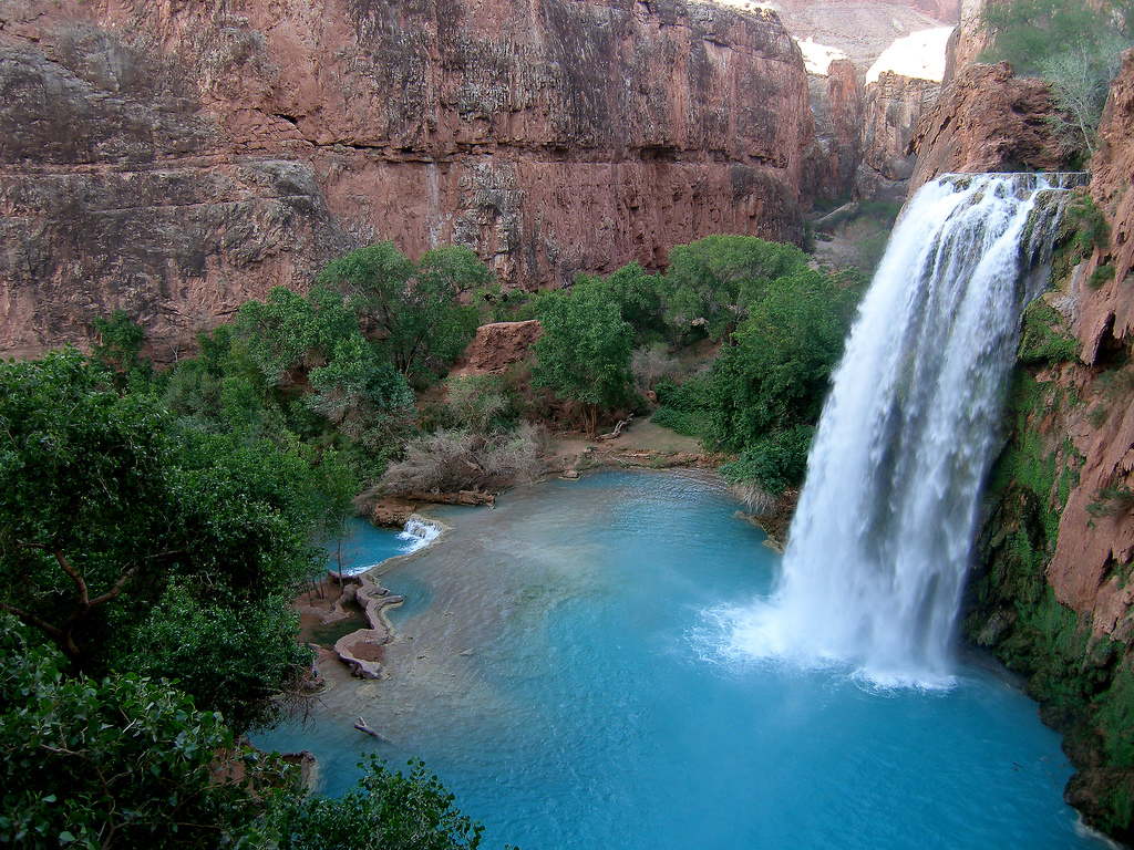 Havasu Falls by Andy Withers