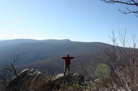 summit of Robertson Mnt