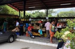 the market at El Valle