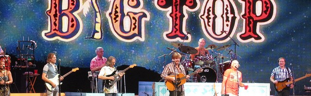 Jimmy Buffet Big Top Tour, copyright Beanhammer