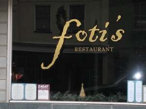 Foti's Restaurant - Culpepper, VA