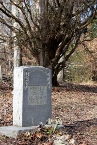 a tombstone I found