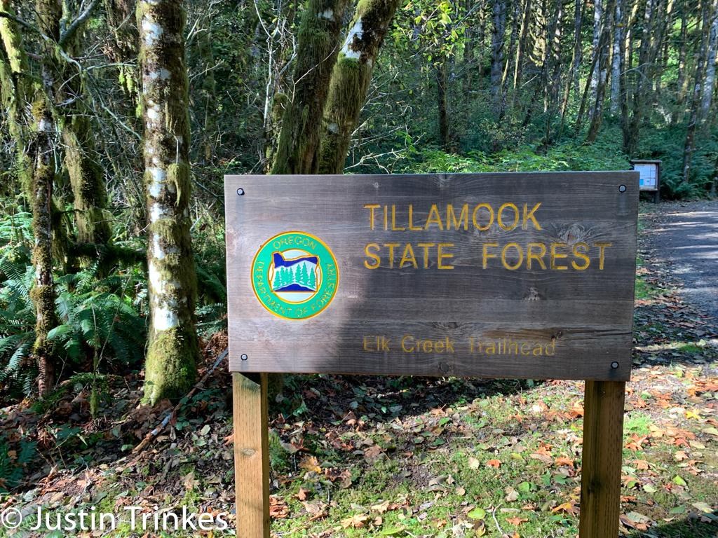 Tillamook State Park Elk Creek Trailhead