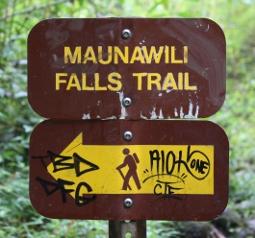 Maunawili Falls - Oahu, Hawaii