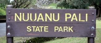 Nuuanu Pali State Park - Oahu, Hawaii